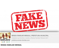 Semas desmente fake news sobre renda familiar mensal